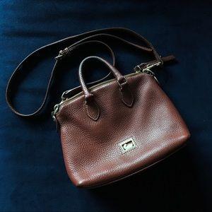 Authentic Dooney & Bourke leather handbag